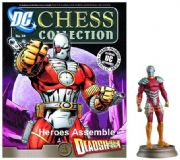 DC Chess Figurine Collection #39 Deadshot Black Pawn Justice League Eaglemoss